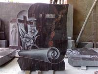 Line Carving Headstone05