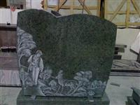Line Carving Headstone10