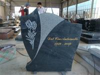 Line Carving Headstone23