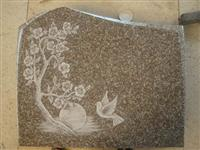 Line Carving Headstone27