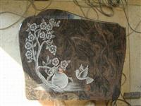 line carving headstone46
