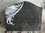 Line carving headstone71
