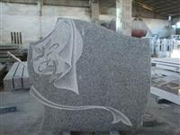 Line carving headstone75