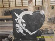 Line carving headstone82