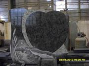 Line carving headstone83