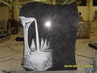 Line carving headstone84