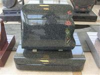 Inlay carving headstone3