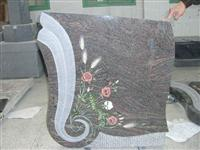 Inlay carving headstone7