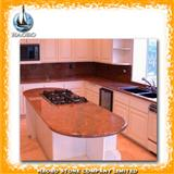 black granite kitchentops