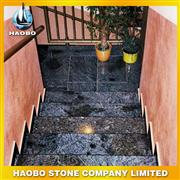 Blue granite staircase