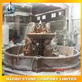 outdoor granite fountain