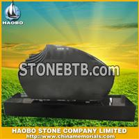Absolute black headstone