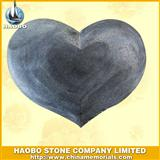 honed heart tombstone