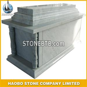 Granite mausoleum