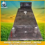 Hungary design red tombstone
