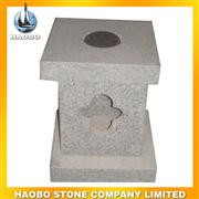 granite gray sculptured lamp