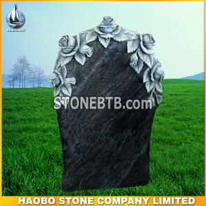 German style Bahama Blue tombstone