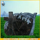 German new Aurora granite carved tombstone