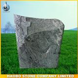 German Wiscon white granite carved tombstone