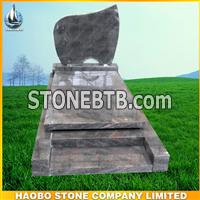 European granite simple monument