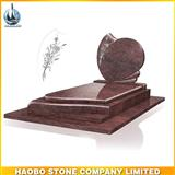 New Red Granite European Monument For Sale
