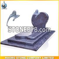 Popular Bahama Blue Granite European Monument