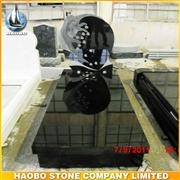 High Polished French Design Granite Monument