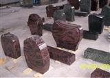 Head Stone Red Multi Granites