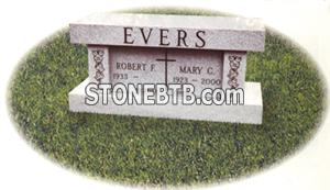 Evers Cremation Bench