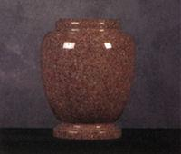 Granite Cremation Urns  Traditional Morning Rose
