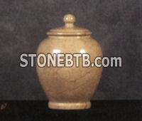 Onyx and Marble Cremation Urns   #2 Sea Shell
