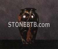 Onyx and Marble Cremation Urns    #4 Black Orchid