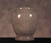Granite Cremation Urns    Traditional Medium Gray