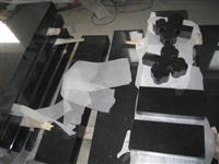 Shanxi Black Granite Monuments, Tombstones