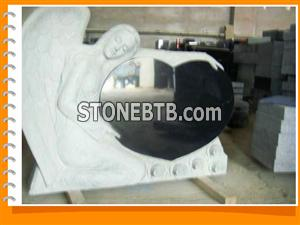 Shanxi Black Tombstone Shanxi Black Monument Shanxi Black Headstone