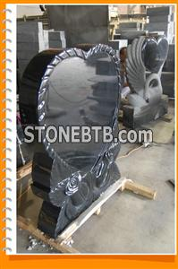 Shanxi Black Tombstone, Shanxi Black Monument, Shanxi Black Headstone