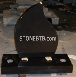 Absolute Black Tombstone