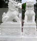 Stone Kylin Carving