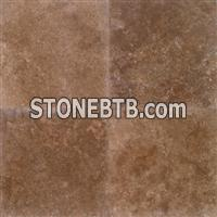Noce Select 24x24 Polished Travertine Tile