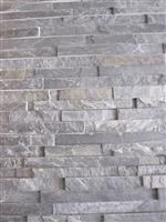 Stack stone feature wall