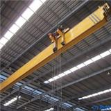 LDP Low Headroom Traveling 5 Ton~20 Ton Single Beam Overhead Crane With Remote Control Panel