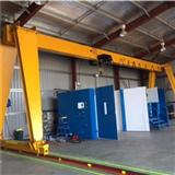 European DIN Standard Open Winch Hoisting Gantry Crane With Wireless Control