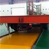 Trackless Rubber Wheel Steel Tube Handling Custom Transfer Carts