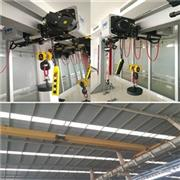 CXTD European Type Warehouse Roof Traveling Bridge Crane With SWF Hoist 5 Ton 10 Ton 15 Ton