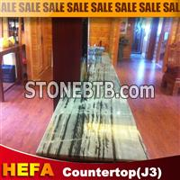 Hua'an jade countertop in black and white