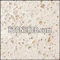 Milk white quartz stone