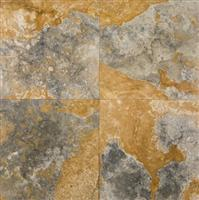 Gold Green 18x18 Polished Travertine