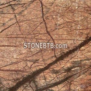 Red Rainforest Marble
