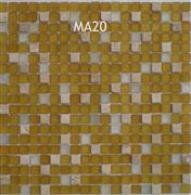 Stone Mosaic + Glass Mosaic for wall--MA20