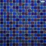 Goldline Glass Mosaic + Crystal Mosaic for wall, for swimming pool ZT02